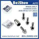 4+1PCS 40cr Material Wheel Lock Set with Chrome Surface