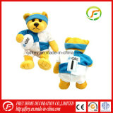 Plush Footable Mascot Toy of Teddy Bear