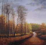 Forest Landscape of Oil Painting