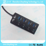 4 Switches 4 Port USB Hub 3.0 (ZYF4101)