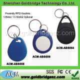 Leader China Supplier Em 125kHz or 13.56MHz Waterproof RFID Keyfob