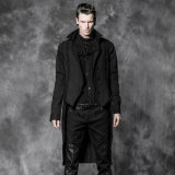 Latest Design Dark Alternative Gothic Long Winter Coat (Y-505)