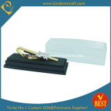 2015 Wholesale Train Shaped Metal Gold Tie Clip for Gift