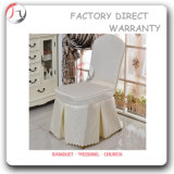 Nice Design White Durable Banquet Chair Cover (YT-05)