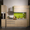 Customized Contemporary MFC Kitchen Cupboard for Kitchen Decoration