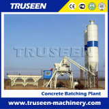 Advanvced Electric Control 25m3/h Portable Concrete Batching Plant