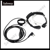Walkie Talkie Throat Mic with Extendable Neckband