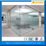 Ce Standard 10mm Glass Wall Price, Partition Wall Glass Supplier, Toughened Wall Glass