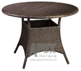 Outdoor Rattan Dining Table