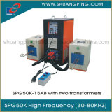 Two Transformer High Frequency Induction Heating Machine Spg50K-15b