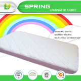 Bamboo Terry Quilted Fabric Baby Crib Size Fitted Microfiber Bed Sheets