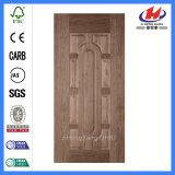 Natural Black Walnut Solid Wood Venner HDF Door Skin (JHK-012)