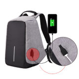 Casual Lightweight Waterproof USB Charge Port Anti-Theft Backpack