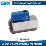 Stainless Steel Mini Ball Valve Female Threaded