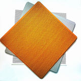0.6mm-0.9mm Thick Suspended Metal Panel Aluminum False Ceiling Tiles for Project