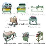 China Bamboo Wood Toothpick Cutting Toothpicks Making Polishing Production Machine