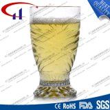 160ml FDA Grade Engraved Clear Coffee Glass (CHM8351)