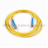 3m ST-ST Simplex Single Mode Fiber Optic Patch Cord