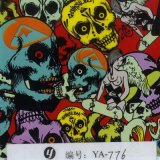 Yingcai 0.5m Width Hottest Skull Water Transfer Printing Film Water Soluble Films