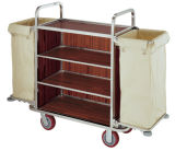 Stainless Steel Guestroom Service Trolley (FW-06)