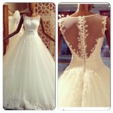 Lace Tulle Bridal Wedding Dress Fashion Vestidos Ball Gown Wedding Gowns Ld11525