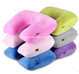 2016 New Design Inflatable Travel Neck Memory U Shape Pillow