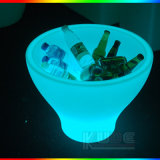 Table Interior Flower Pot LED Night Light Lamp Home Deco