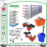 Supermarket Equipments Trolley Basket Shelving