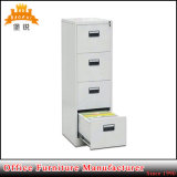 Flat Pack Wall Mounted 4 Tier Door Metal Chest Office Document Drawer File Cabinets
