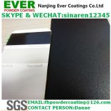 Sand Texture Glossy 80% Traffic Balck Color Ral9017 Powder Coating