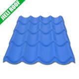 Popular Color Lasting PVC Roof Tile for Residentail Housing & Villa