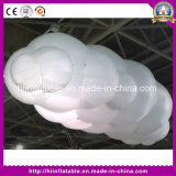 Inflatable Advertising Cloud, Hanging Helium Cloud, LED Light Cloud