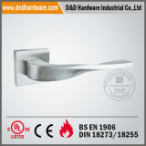Door Handle on Square Rose
