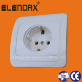 European Style Flush Mounted Wall Schuko Socket (F2010)