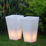 Decorative Pots Event Production and Lighting Flowerpots