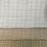 Polyester Rayon Viscose Yarn Dyed Checks Fabric for Jacket and Suit Pant with Soft Handfeel
