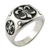 Custom Ring Saint Ring Stainless Steel