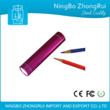 Emergency Mini Power Bank 2600mAh with LED Flashlight Cell Phone Charger