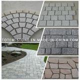 Natural Granite / Marble Paving Stone for Landscape, Garden, Driveway Paver