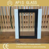 3mm Ultra Clear Tempered Silk Screen Painted Glass for Oven