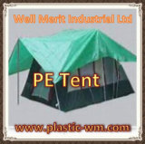 PE Tent Material for The Temporary Rain Shelter