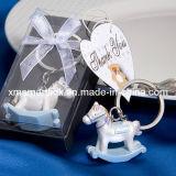 Silver Miniature Horse Souvenir Key Chain Gifts