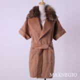 Latest Autumn/Winter Wool Casual Coat Clothes for Women (1-86152)