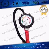 60mm 1.2 MPa Red Tire Pressure Gauge