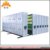 Movable Filing Cabinets Library Archive Steel Moving Storage Shelving System Mobile Compactor