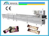 Full Automatic Candy Feeding and Food Packing Machine for Chocolate, Wafer Product, Bread, Biscuit and Easy-Damaged Surface Product
