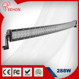 4X4 Offroad 288W Dual Rows Curved CREE LED Light Bar