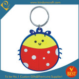 Customized High Quality Cartoon Logo PVC Key Ring at Factory Price From China