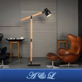 a&L New Design Nordic Style Wooden Floor Lamp for Living Room