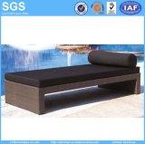 Rattan Beach Furniture Waterproof Outdoor Lounger